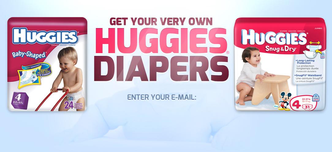 Huggies Baby Diapers Sample Package