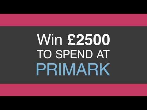 Primark £10 Voucher Giveaway & Sweepstake