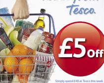 £5 Off at Tesco!
