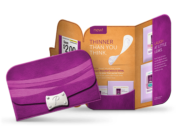 Poise Liner Pad Free Samples Pack