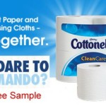 Cottonelle Go Commando Wipe Samples