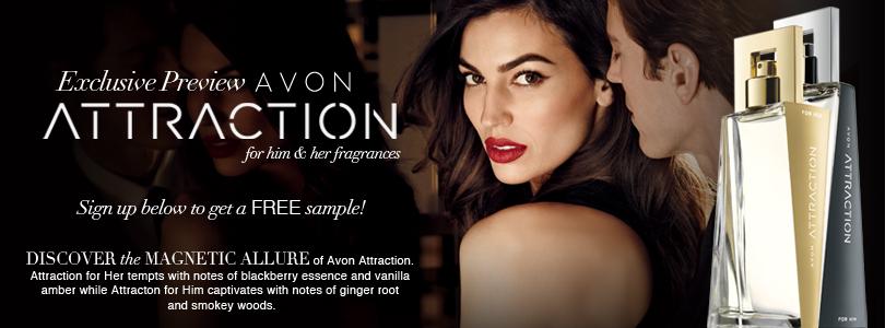 Avon Attraction Fragrance Sample