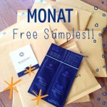 Monat Haircare Samples
