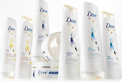Dove Haircare Sample Box