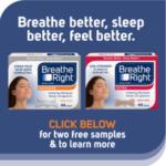 Breathe Right Nasal Strips Sample