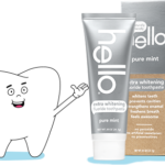 Hello Extra Whitening Toothpaste Sample