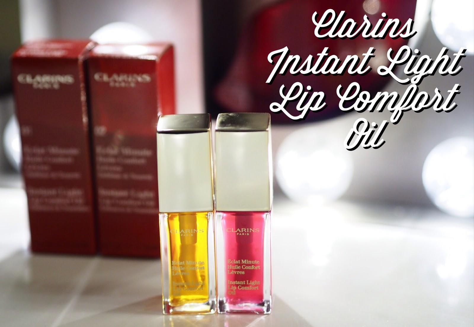 Clarins Mini Instant Lip Oil Sample