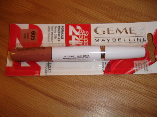 Maybelline Liquid Lipstick Sample