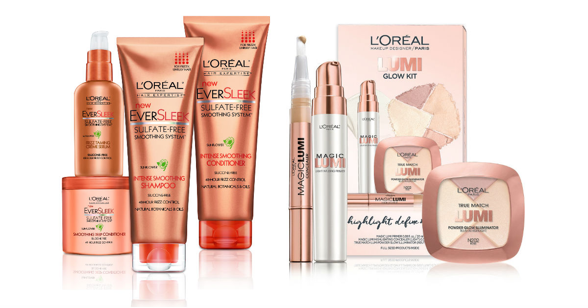 L'Oreal Free Welcome Package