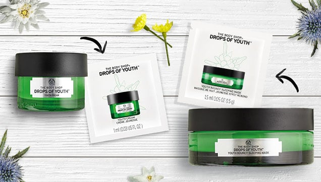 Free Body Shop Samples (In-Store)