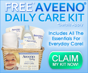Aveeno Baby Care Kit Freebie!