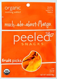 Free Peeled Snacks Sample (Mango Flavor)
