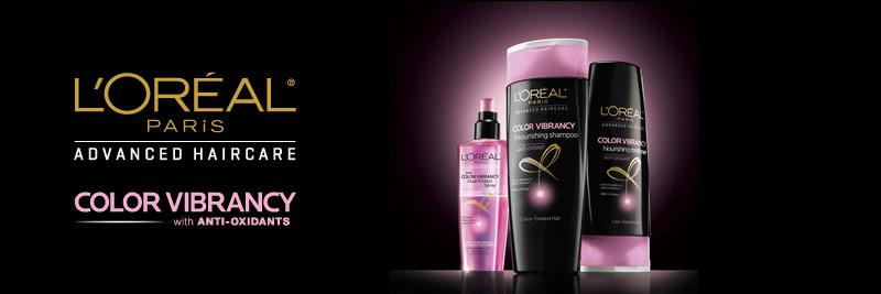 L'Oreal Advanced Haircare (Volume Filler & Color Vibrancy) Samples