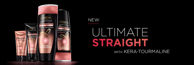 L'Oreal Ultimate Straight Hair Care Samples