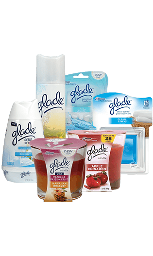 Glade Scented Candles & Toiletry Samples