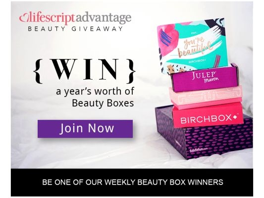 Beauty Box Giveaway