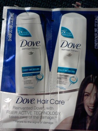 Dove Haircare Sample Box Freebie Hunter