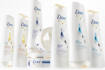 Dove Haircare Sample Box