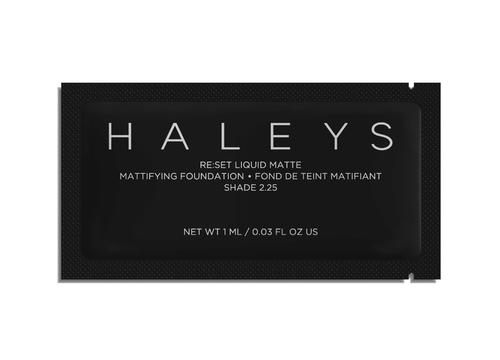 Haleys Beauty Foundation Samples