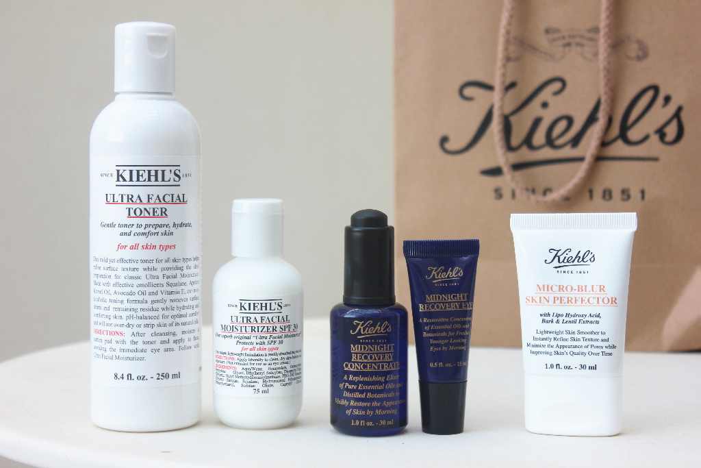 Kiehls Skincare Samples