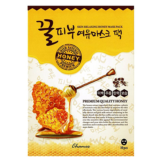 Chamos Honey Face Mask Sheets