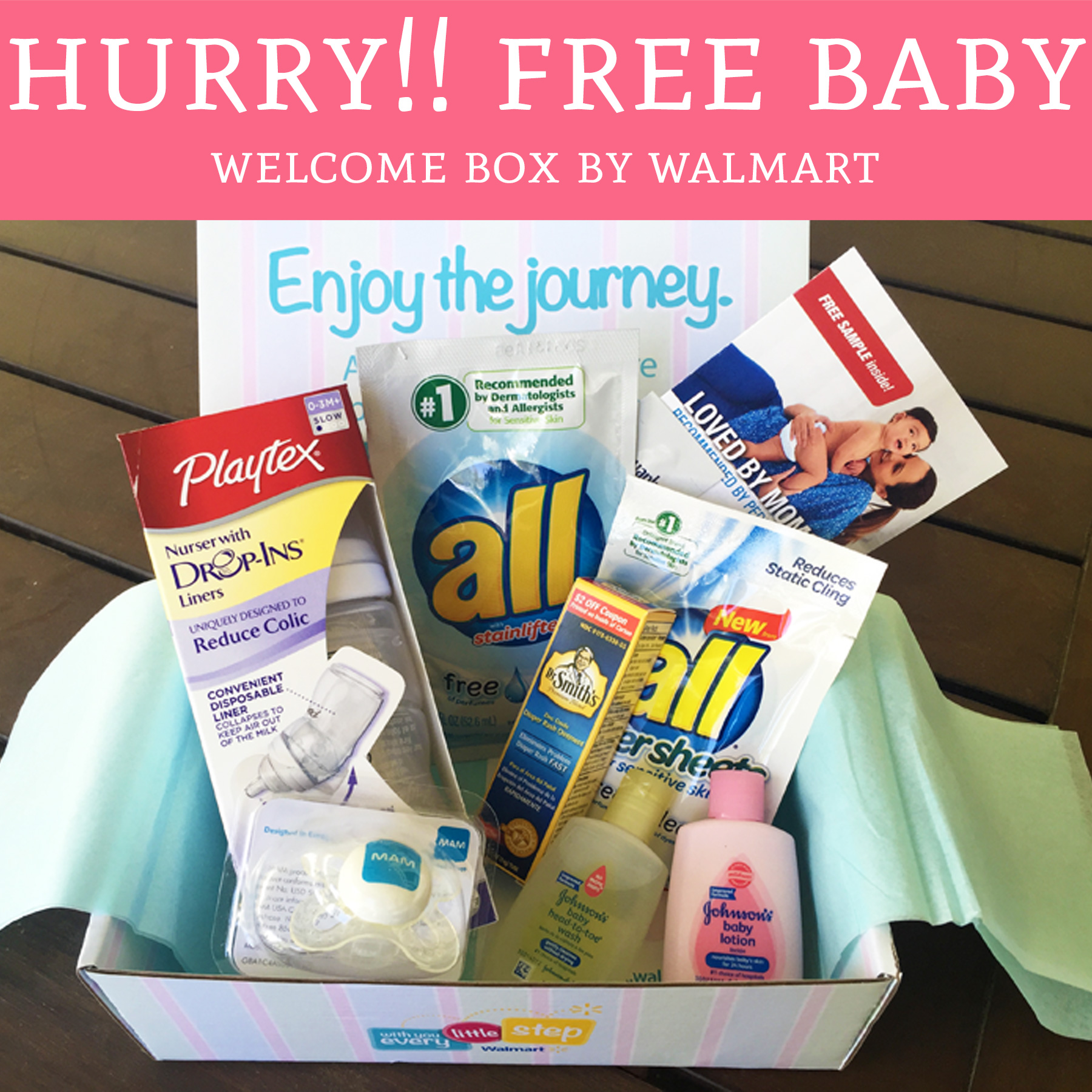 Walmart Free Baby Care Box Freebie Hunter