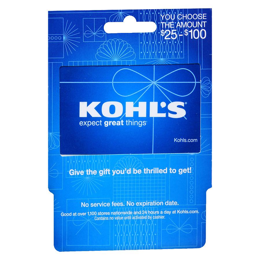Kohl's $100 Gift Card