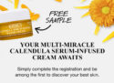 Free Sample of Kiehl's Calendula Water Cream