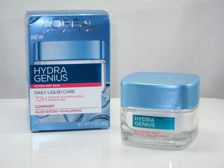L'Oreal Hydra Genius Moisturizer